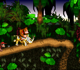 Donkey Kong Country - more golden rambi - User Screenshot